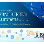 """Invitație la Conferința cu tema """"Fondurile Europene"""""""