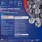 Comunicat de Presă- PACTUL PENTRU MUNCĂ. Investiția în educație, prioritate pentru România!