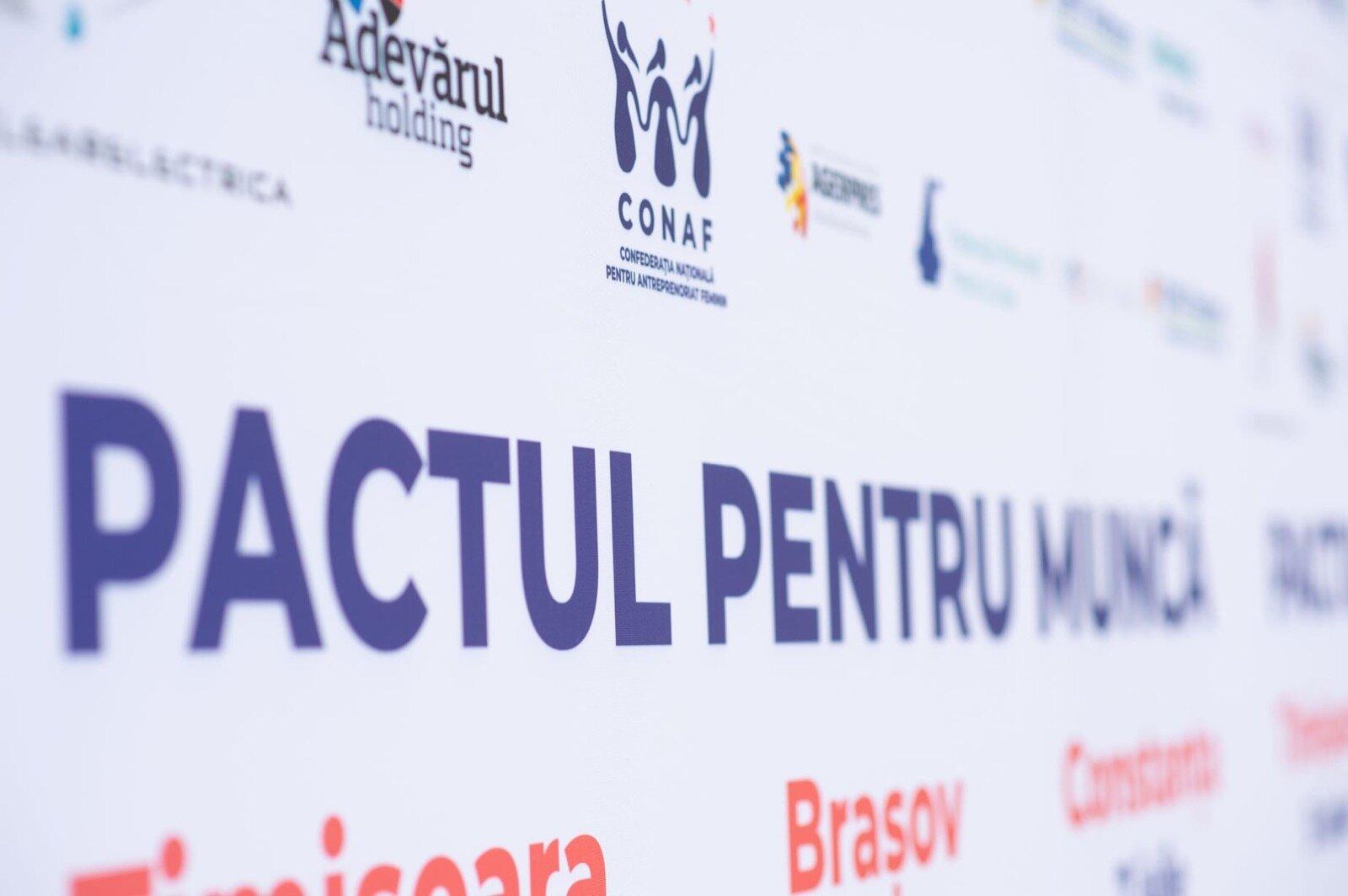PACTUL PENTRU MUNCĂ - consultări cu partidele politice