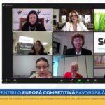 Comunicat de presă: Femeia antreprenor într-o nouă etapă de dezvoltare economică