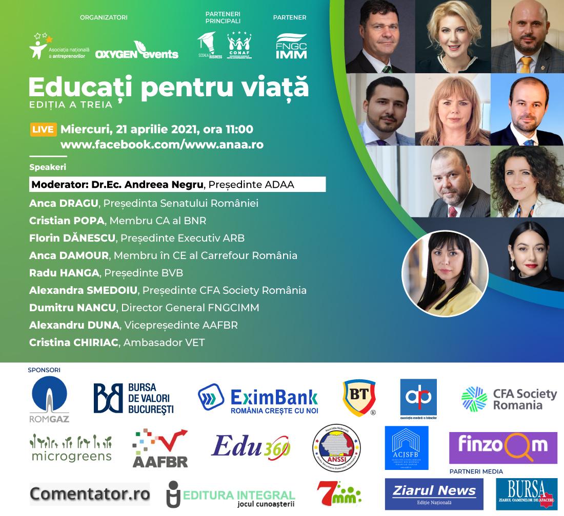 Conferința Educați pentru viață - ediția a treia.